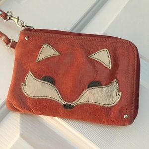 Fossil Fox 🦊Wristlet - Hard to find! Super cute